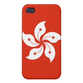Hong Kong Flag iPhone iPhone 4/4S Cover