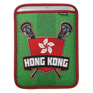 Hong Kong Flag Lacrosse iPad Case