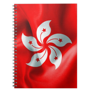 Hong Kong Flag Notebook