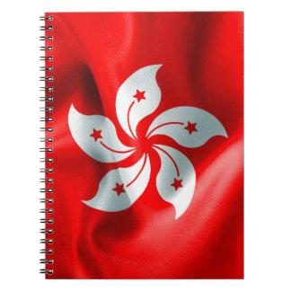Hong Kong Flag Notebook