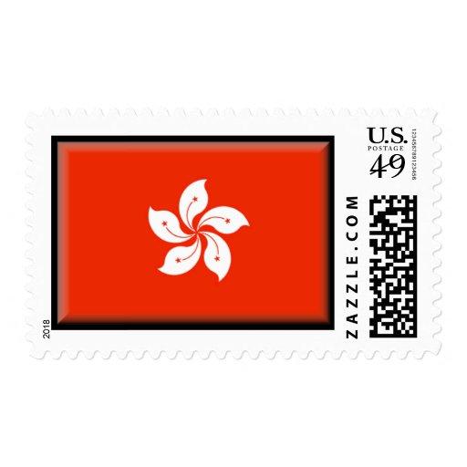 Hong Kong Flag Postage Stamps