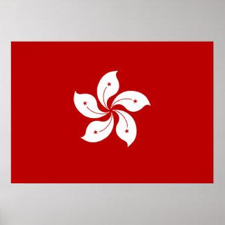 Hong Kong Flag Poster