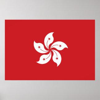 Hong Kong Flag Posters