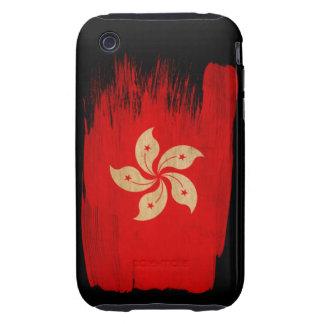 Hong Kong Flag Tough iPhone 3 Cover