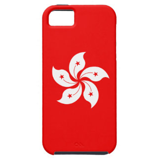 Hong Kong Flag White Orchid Symbol iPhone SE/5/5s Case