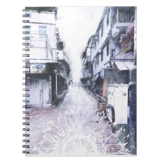 Hong Kong Floral Notebook
