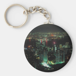 Hong Kong from Victoria Peak Key Chains