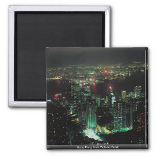 Hong Kong from Victoria Peak Fridge Magnets