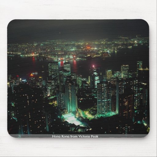 Hong Kong from Victoria Peak Mouse Pad