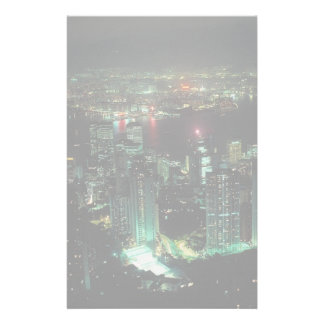 Hong Kong from Victoria Peak Personalized Stationery