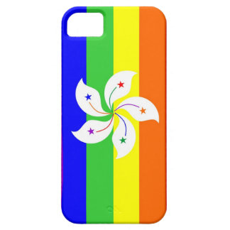 hong kong gay proud rainbow flag homosexual iPhone SE/5/5s case