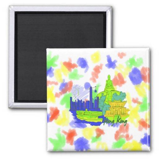hong kong  green city image.png fridge magnets
