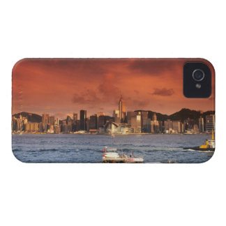 Hong Kong Harbor at Sunset iPhone 4 Case
