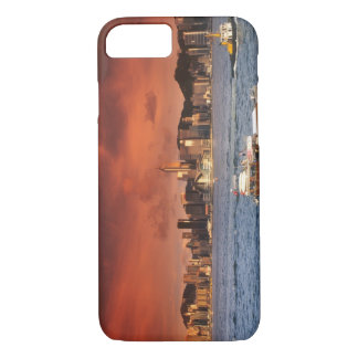 Hong Kong Harbor at Sunset iPhone 7 Case
