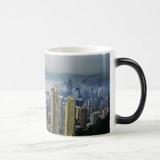 Hong Kong Harbor Mists 11 Oz Magic Heat Color-Changing Coffee Mug
