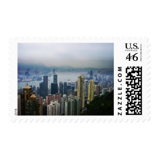 Hong Kong Harbor Mists Stamp