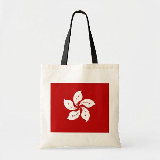Hong Kong High quality Flag Canvas Bag