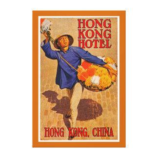 Hong Kong Hotel - XL Canvas Print