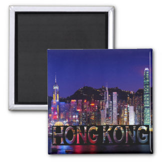 Hong Kong Imán Cuadrado