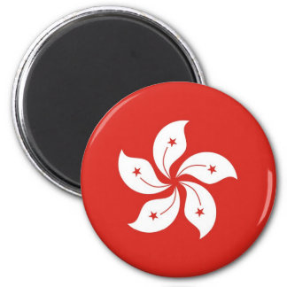 Hong Kong Imán Redondo 5 Cm