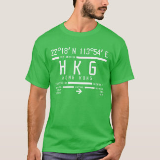 Hong Kong International Airport Code T-Shirt