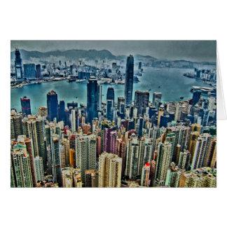 Hong Kong Island Card