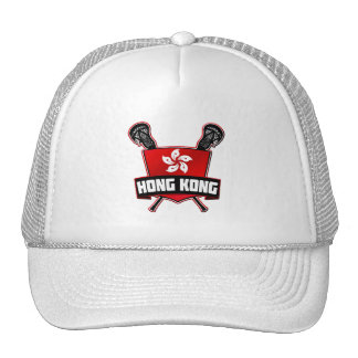 Hong Kong Lacrosse Adjustable Mesh Hat