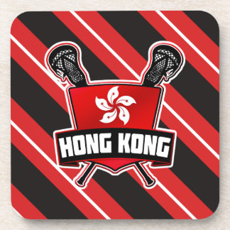 Hong Kong Lacrosse Drinks Coasters
