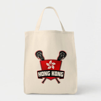 Hong Kong Lacrosse Grocery Bag