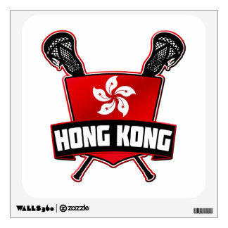 Hong Kong Lacrosse Wall Sticker