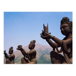 Hong Kong, Lantau Island, Po Lin Monastery Postcard