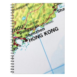 Hong Kong Map Notebook