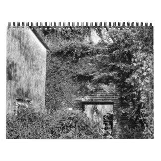Hong Kong Nature Photo calendar in black and white
