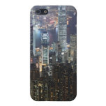 Hong Kong Night Skyline Covers For iPhone 5