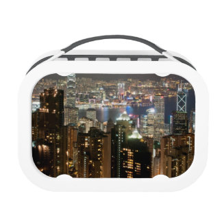 Hong Kong Night Skyline from Victoria Peak Lunch Box