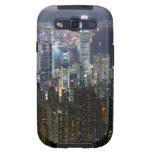 Hong Kong Night Skyline Galaxy S3 Covers