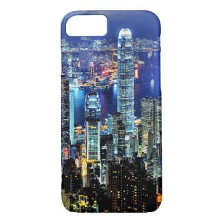 Hong Kong night skyline iPhone 8/7 Case