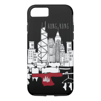 Hong Kong Old x New scenery iPhone 8/7 Case