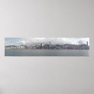 Hong Kong Panorama Poster