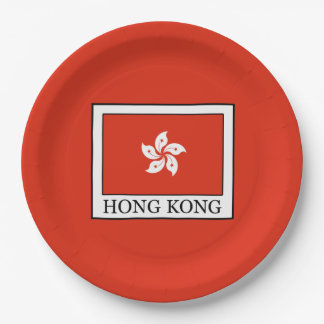 Hong Kong Paper Plate