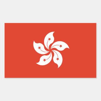 Hong Kong * pegatina de la bandera