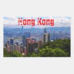 Hong Kong - pegatina máximo de Victoria
