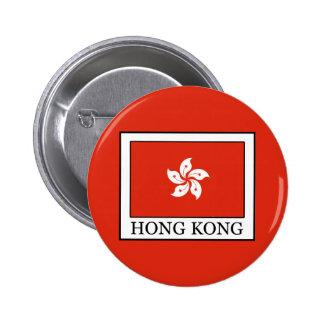 Hong Kong Pin Redondo De 2 Pulgadas