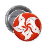 Hong Kong Pinback Button