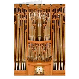 Hong Kong pipe organ Card
