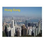 hong kong postcard