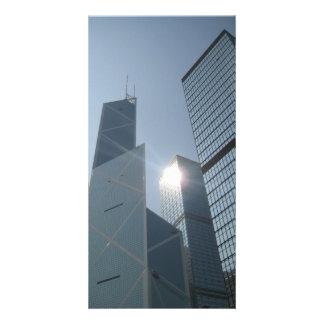 hong kong postr custom photo card
