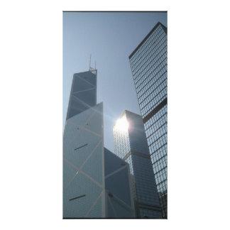 hong kong postr picture card
