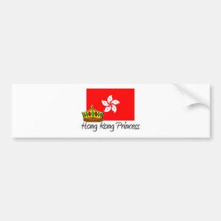 Hong Kong Princess Bumper Sticker