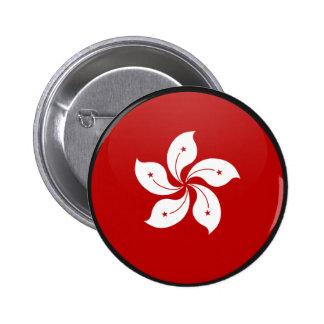 Hong Kong quality Flag Circle Buttons